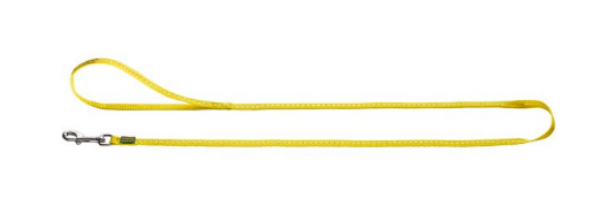 Picture of Hunter Leash Tripoli,15/110 Nylon Yellow, Reflecting