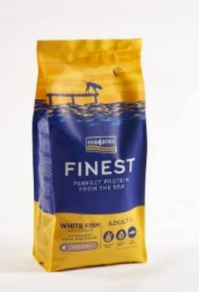 Picture of Fish 4 Dogs Complete Ocean White Fish Adult Small Bite 12kg
