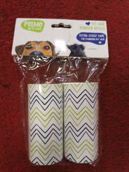 """Picture of James & Steel 4.5"""" Lint Roller Replacement Rolls"""
