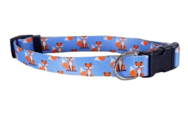 """Picture of Rosewood Fox Print Collar 10-14"""""""