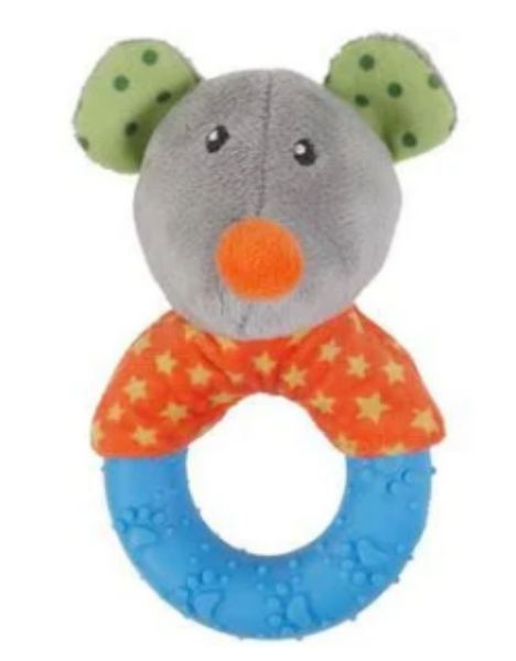 Picture of Rosewood Little Nippers Mischief Mouse for Puppies