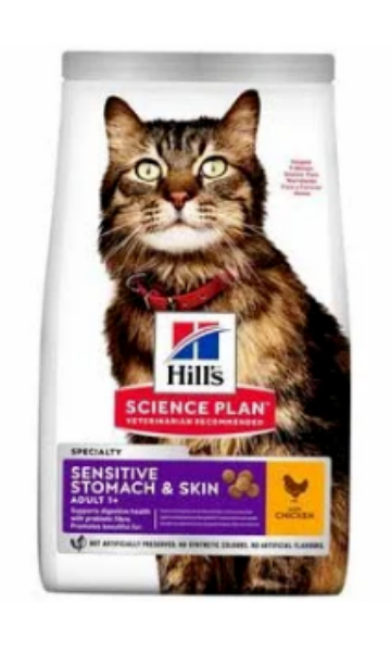 Picture of Science Plan Adult Sensitive Skin & Stomach 7kg