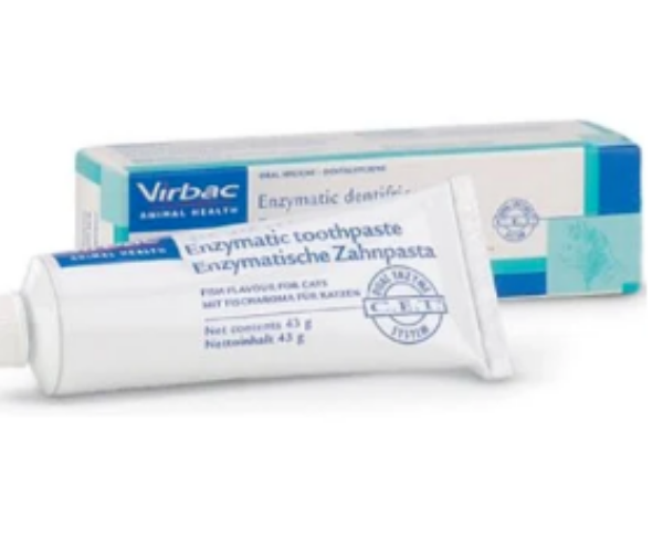Picture of Virbac Enzymatic Toothpaste Fish Flavour 43g