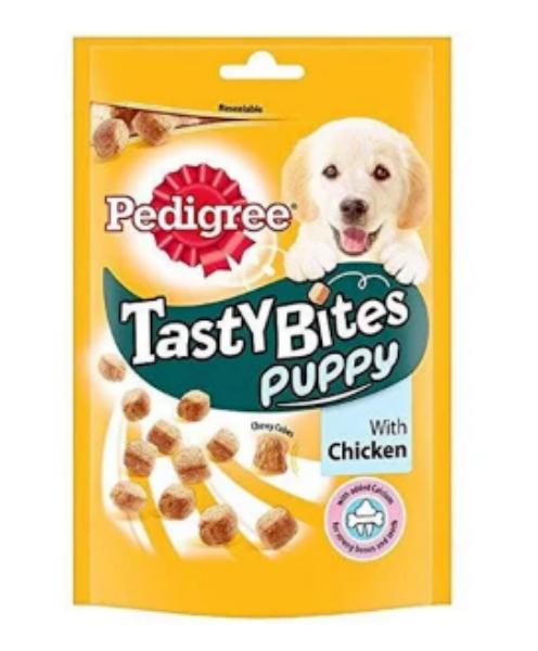 Picture of Pedigree Tasty Bites Puppy Chicken 125g