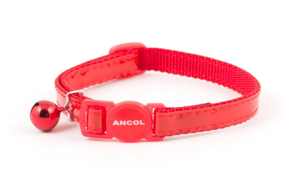 Picture of Ancol Reflective Cat Collar Red