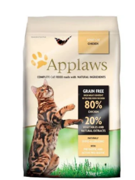 Picture of Applaws Cat Food Dry Chicken 400g