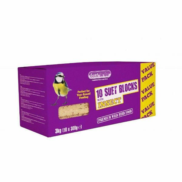 Picture of Suet To Go Block Insect 10 Pack