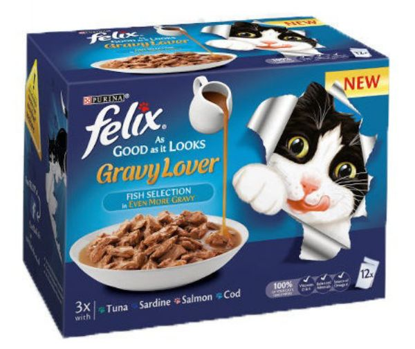 Picture of Felix As Good As It Looks Gravy Lover Gig Mv Fish 12x100g