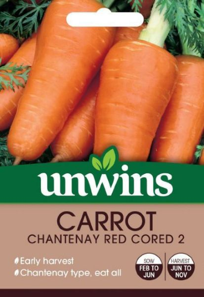Picture of Unwins Carrot Chantenay Red Cored 2 Seeds