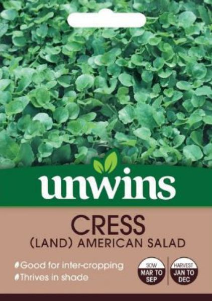 Picture of Unwins Cress Land American Salad Seeds