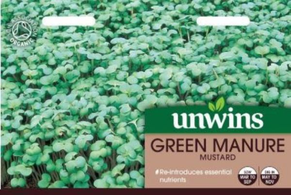 Picture of Unwins Green Manure Mustard Seeds