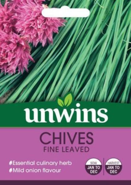 Picture of Unwins Herb Chives Fine Leaved Seeds