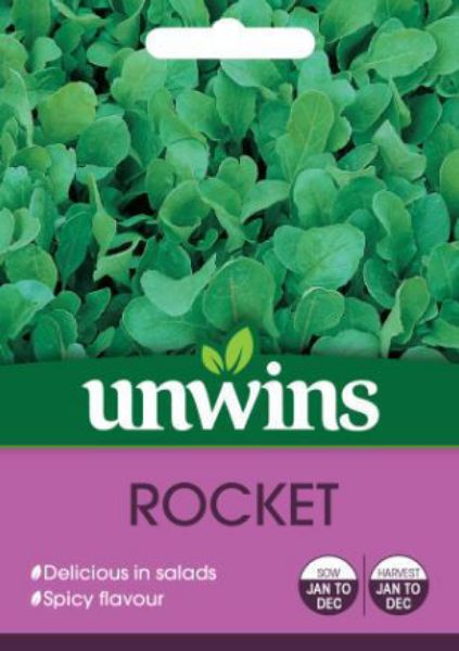 Picture of Unwins Herb Rocket Seeds