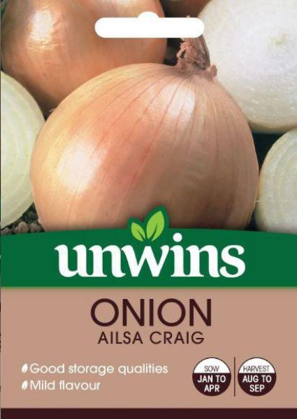 Picture of Unwins Onion Ailsa Craig Seeds
