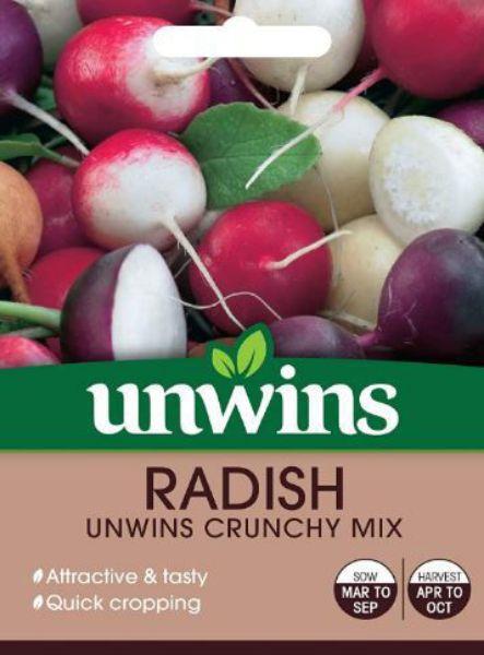 Picture of Unwins Radish Crunchy Mix Seeds