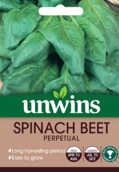 Picture of Unwins Spinach Beet Perpetual Seeds