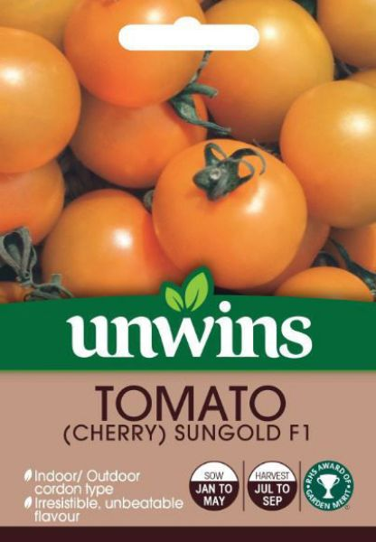 Picture of Unwins Tomato Sungold F1 Seeds