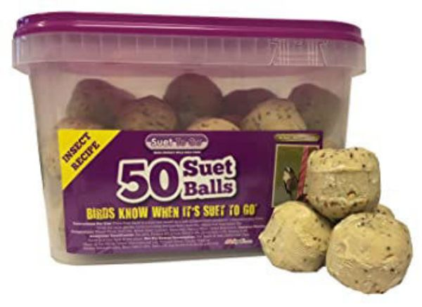 Picture of Suet To Go Insect Fat Balls 50 Pk