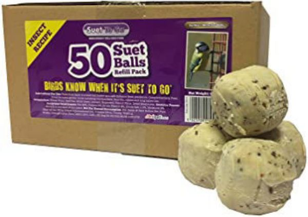 Picture of Suet To Go Insect Fat Balls 50 Pk Cardboard Refill