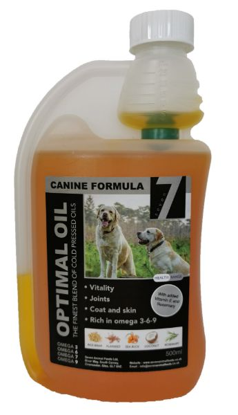 Picture of Seven Dog - Canine Optimal Oil 500ml