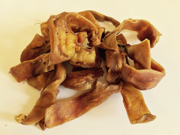 Picture of Riverside Pigs Ear Strips 500g