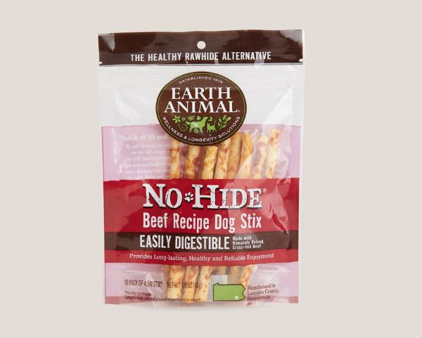 Picture of Earth Animal Dog - No Hide Beef Dog Stix 10pk 45g