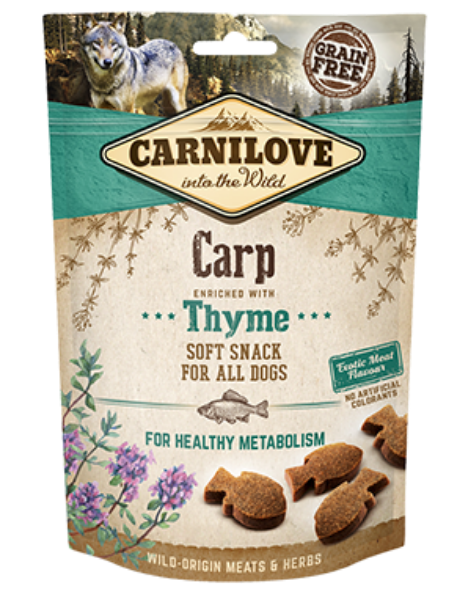 Picture of Carnilove Dog - Carp With Thyme Dog Treats 200g
