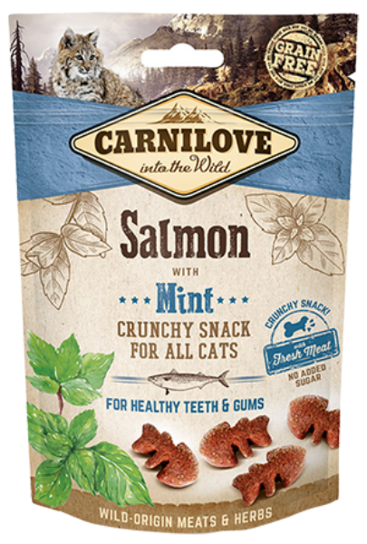 Picture of Carnilove Cat - Salmon With Mint Cat Treats 50g