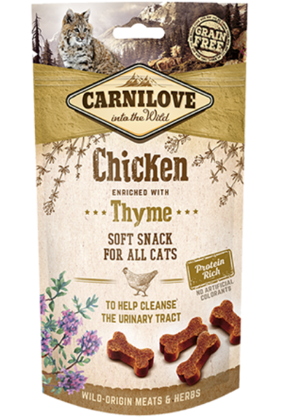 Picture of Carnilove Cat - Chicken With Thyme Cat Treats 50g