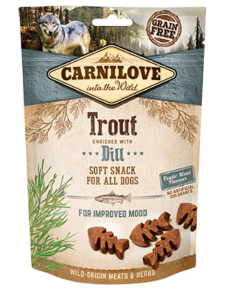 Picture of Carnilove Dog - Trout With Dill Dog Treats 200g