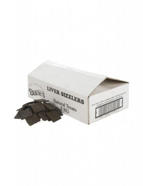 Picture of Davies Dog - Liver Sizzlers 2kg