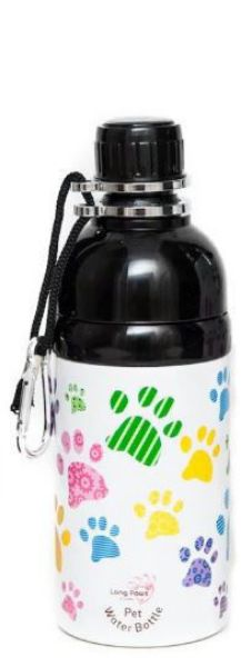 Picture of Long Paws Water Bottle - Paws 500ml