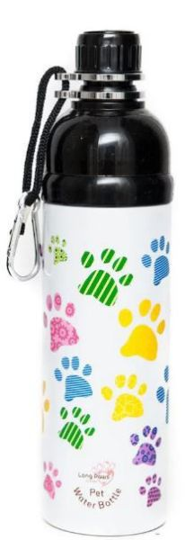Picture of Long Paws Water Bottle - Paws 750ml