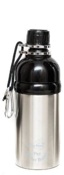 Picture of Long Paws Water Bottle - Silver 500ml