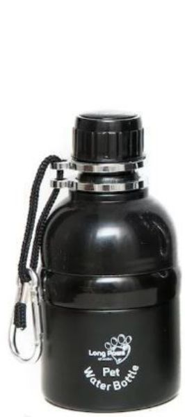Picture of Long Paws Water Bottle - Black 250ml