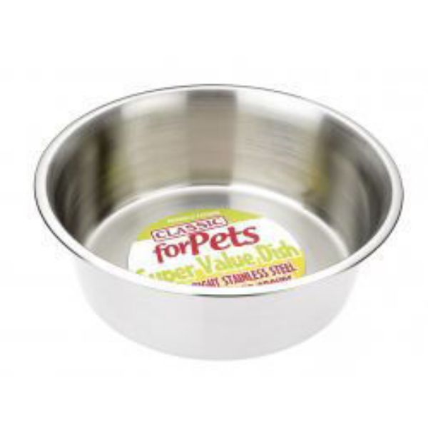 Picture of Classic Value Stainless Steel Dog Bowl 4700ml