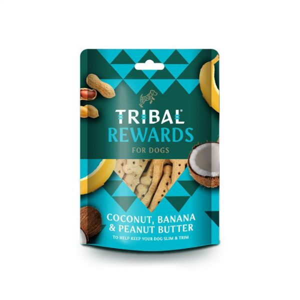 Picture of Tribal Rewards Coconut, Banana & Peanut Butter 125g