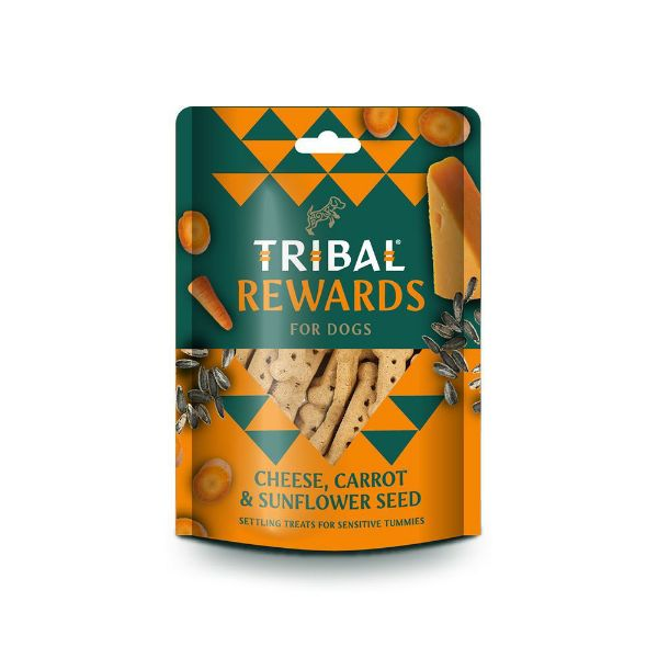 Picture of Tribal Rewards Cheese, Carrot & Sunflower Seed 125g