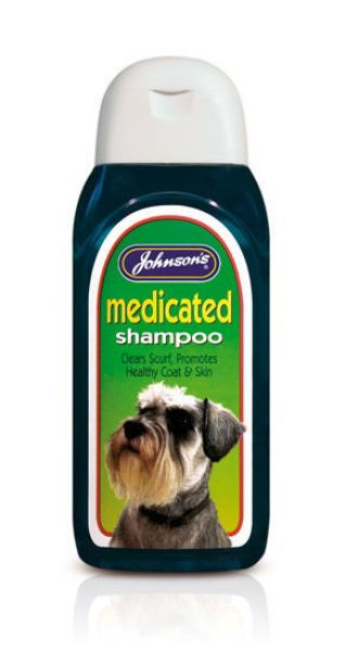 Picture of Johnsons Medicated Shampoo 200ml