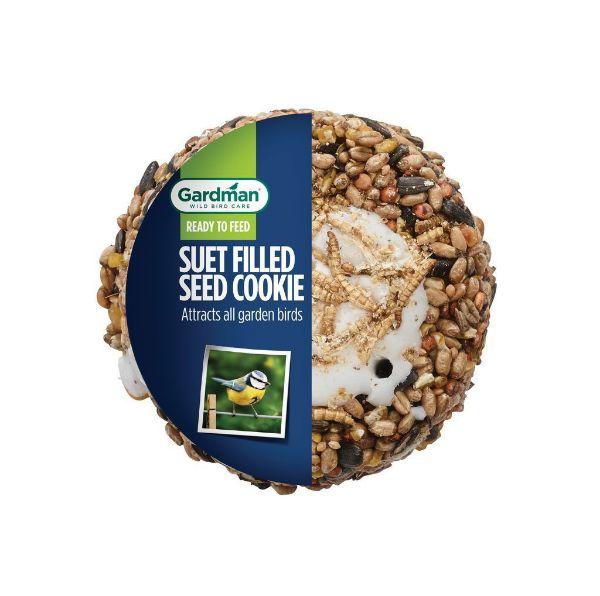 Picture of Gardman Suet Cookie Mealworm / Peanut 500g