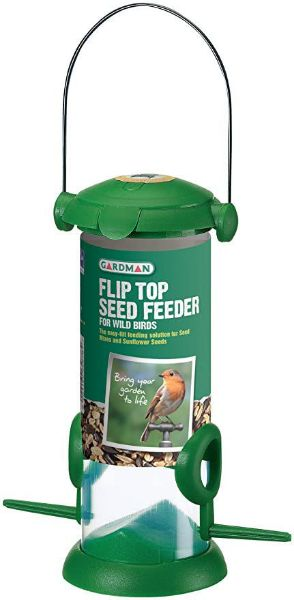 Picture of Gardman Flip Top Seed Feeder Standard