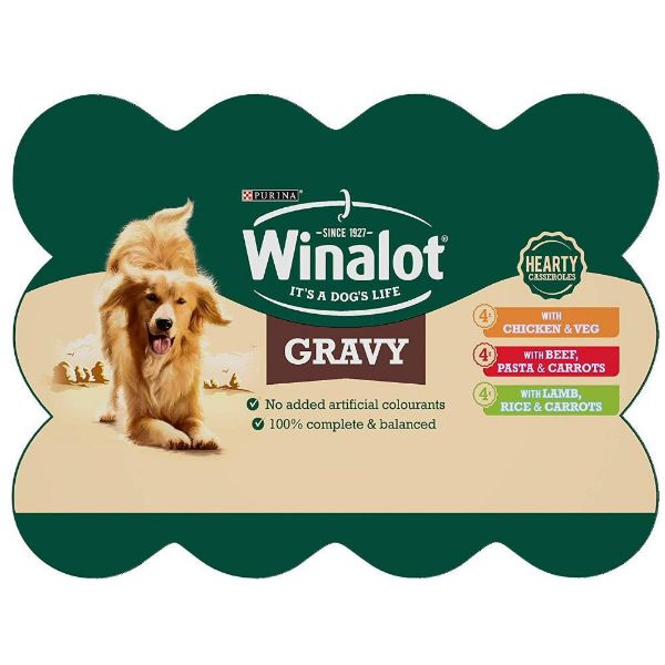 Picture of Winalot Tins Mixed Variety Gravy 12x400g