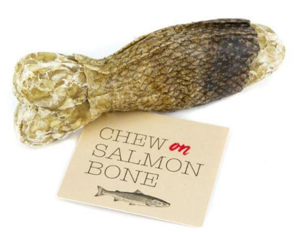 Picture of Chew On Salmon Bone 12cm