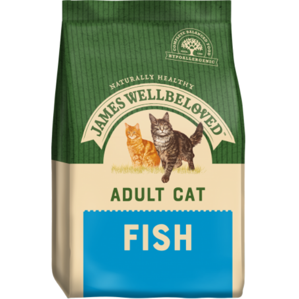Picture of James Wellbeloved Cat - Adult Fish