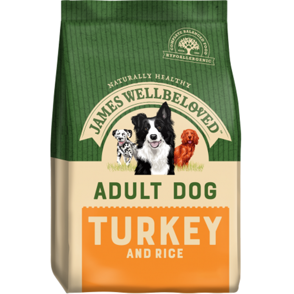 Picture of James Wellbeloved Dog - Adult Turkey & Rice