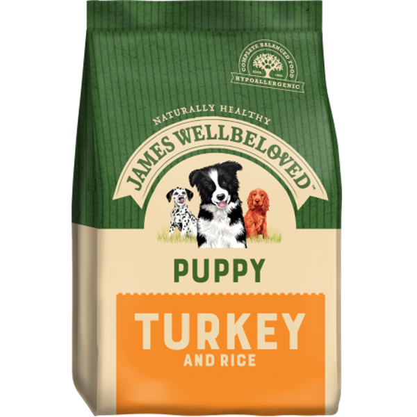 Picture of James Wellbeloved Puppy - Turkey & Rice