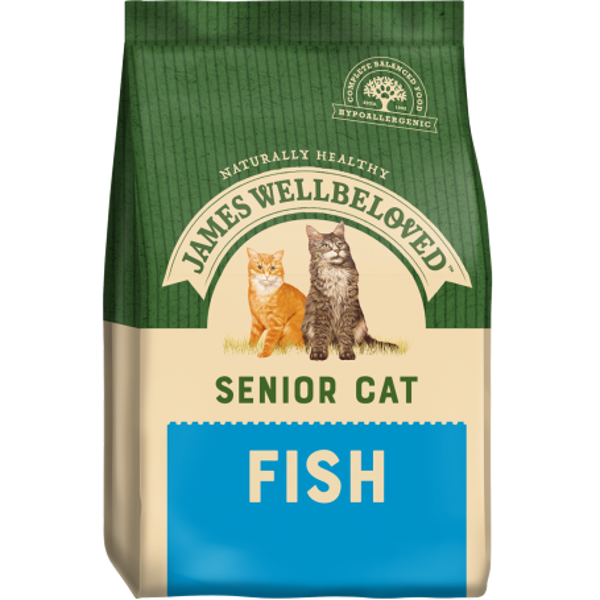 Picture of James Wellbeloved Cat - Senior Fish