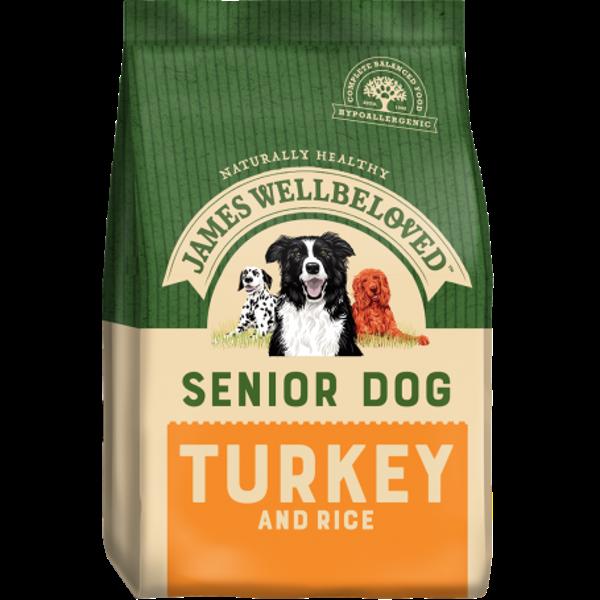 Picture of James Wellbeloved Dog - Senior Turkey & Rice