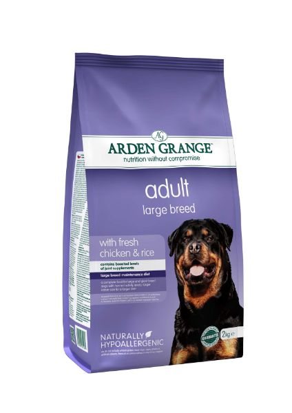 Picture of Arden Grange Dog - Adult Large Breed Chicken & Rice