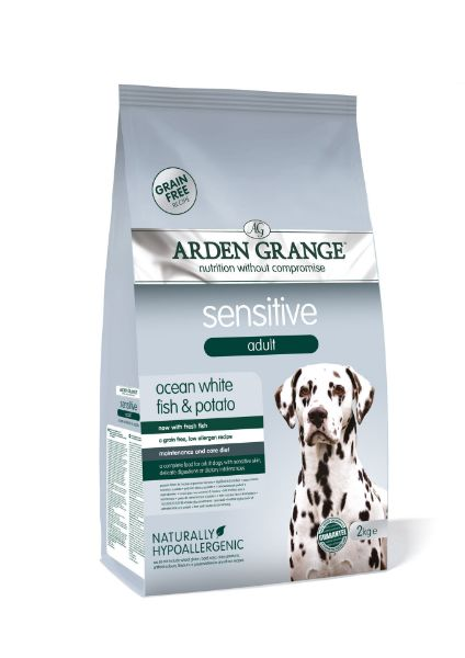 Picture of Arden Grange Dog - Adult Sensitive Grain Free Fish & Potato